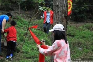 华夏银行南宁分行组织开展公益植树活动