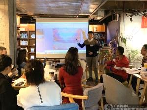 农行柳州立新支行青年朗读者分享青春正能量