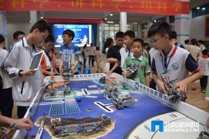 北海举办第二届青少年机器人竞赛