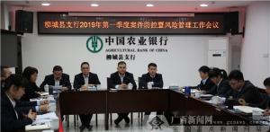 农行柳城县支行切实抓好案防和风险管理工作