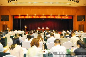 全区互联网企业党建工作座谈会在南宁召开