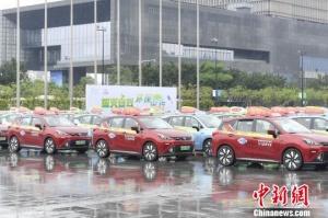 廣州全面推廣純電出租車