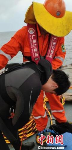 珠江口大萬山島海域失聯港澳流動漁船被成功打撈