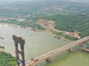 六律大橋沖刺施工 將有雙向8車道緩解