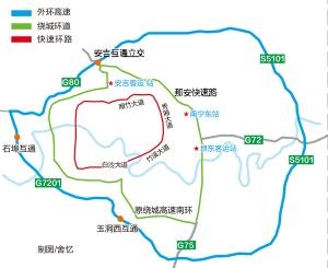 《關于加強南寧市城市道路交通管理的通告》施行