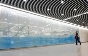 南宁地铁3号线:站中有景景中有画 23个站点颜值高