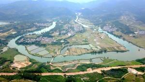 航拍百色福禄河国家湿地公园(组图)