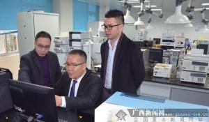 访广西亿安康壮医药科技集团董事长黄德