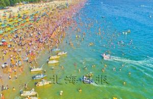 北海位列假日全国十大海滨热点旅游城市
