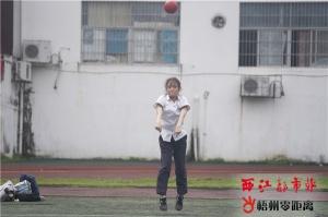 梧州市逾万名考生参加体育中考