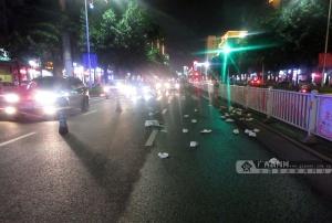 寶馬撞飛斑馬線上一名年輕媽媽 司機涉嫌醉酒駕駛