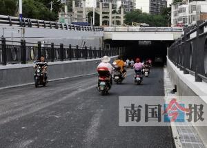 柳州市水南路文庙门前的下穿通道5月底将正式通车