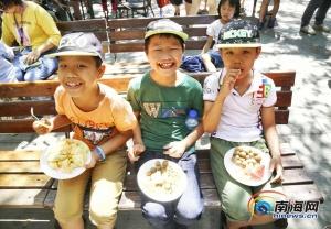 1500斤水果隨便吃!中國旅游日海口活動嗨翻盛夏