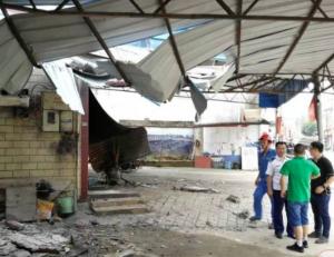 柳州一工人安装宽带时引发爆燃 被严重烧伤(组图)