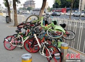 北京一周来累计清理共享单车超5万辆