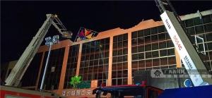 百色酒吧坍塌事故致6死87傷 轉入清理和善后階段