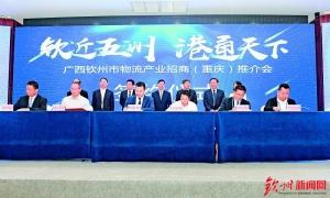 钦州物流产业推介会在重庆举行