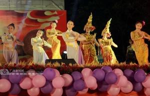 中越歌手在广西民大歌唱联欢 以歌会友传情(图)
