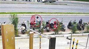 3男子合伙盗走20多辆电单车 每辆才卖500到600元