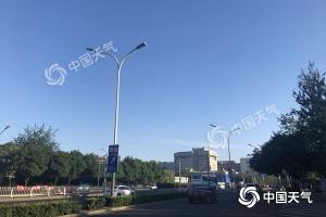 """北京高溫四連擊 先""""燒""""再""""燜""""局地可達37℃"""