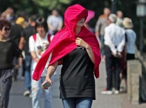 杭州入夏 阳光灼热