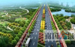柳州这条路年底可通车 有2.22公里