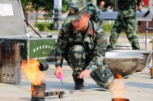 崇左:武警后勤专业比武 锤炼综合保障硬功