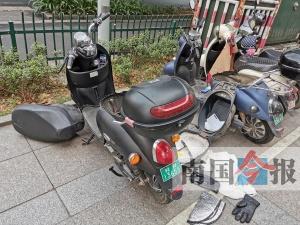 柳州:十余电驴电瓶不翼而飞 盗贼疑似凌晨作案