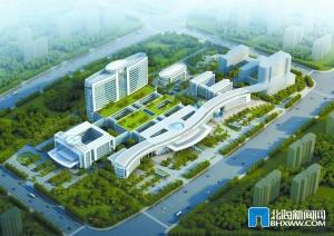 北海:市人民醫院異地擴建項目預計2022年底前竣工