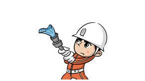 柳城民房突起大火 消防员架梯子将祖孙两成功救出