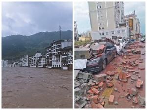 5月27日焦点图:东兴、资源遭大暴雨袭击受灾