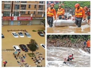 5月28日焦点图:暴雨连续袭击 广西多地被泡