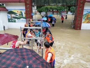 滚动直播丨广西多地遭暴雨袭击 救灾工作开展中