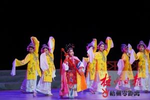 梧州第三届中小学师生戏曲表演大赛开赛