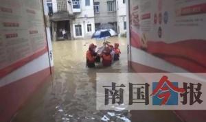 来宾多地遭受暴雨袭击 忻城县多处积水、泥石流
