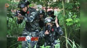 帅呆啦!广西武警特战队员锻造反恐精英