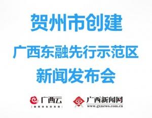 回顾 贺州市创建广西东融先行示范区新闻发布会