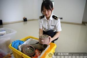 凭祥海关向文物主管部门移交罚没古钱币153.17kg