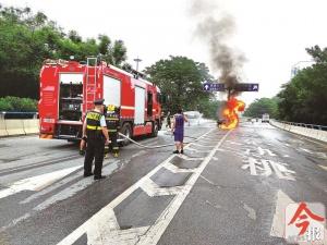 柳州勝利立交橋車禍調查:被燒身亡司機涉嫌醉駕