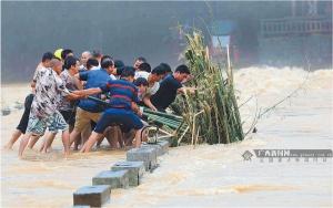 抗洪救灾 重建家园