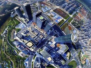 6月20日焦�c�D:南��五象新�^打造中��-�|盟金融城