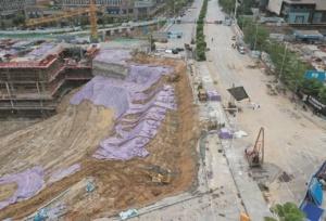 南寧東葛路延長線恢復單向通行 交通壓力有所緩解