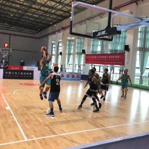 2019年中國三對三籃球聯賽(北海分賽區)舉行