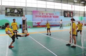 全国毽球比赛广西选拔赛在北海举行