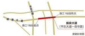 振良大道开工 南宁五象新区将新增一条城市主干道
