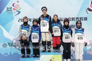 馬于森全國賽獲獎牌 廣西運動員冬季項目再有突破