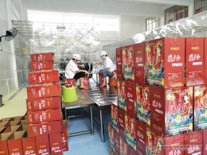 都安建興山葡萄酒生產基地竣工投產 今年計劃產酒2000噸