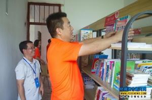 防城區:百里小學獲贈3000多冊圖書及物品