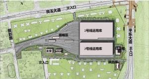 下面停车上面建房 南宁地铁2号线东延线车场有新意