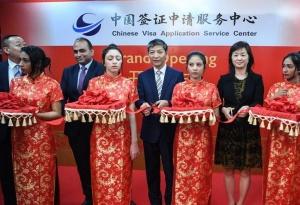 埃及亚历山大中国签证申请服务中心开业